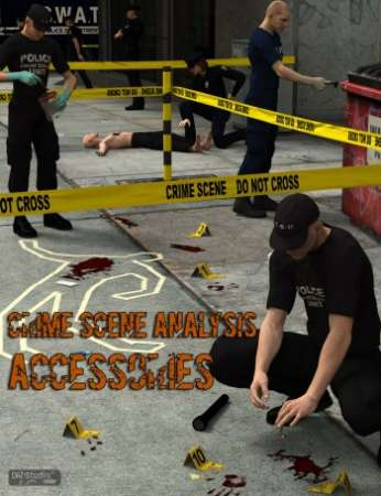 DAZ3D - Crime Scene Analysis : Accessories