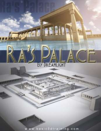 Ra's Palace for DAZ Studio