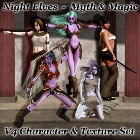 Night Elves - Myth & Magic Renderosity