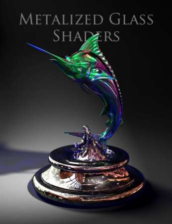 Metalized Glass Shaders DAZ3D
