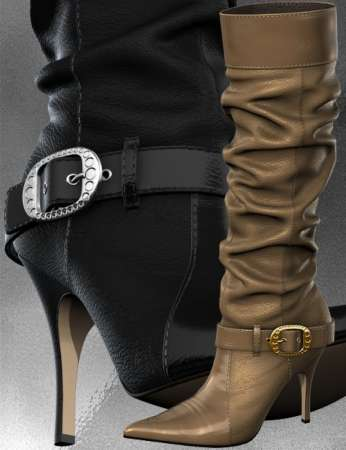 Slouch Boots for V4