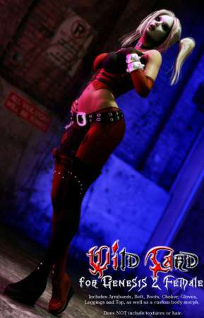 Wild Card for Genesis 2 Female
