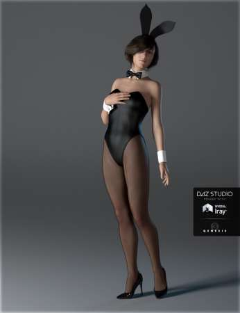 Bunny Girl Costume for Genesis 3 Female(s)
