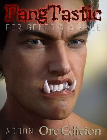 FangTastic ADDON:Orc for Genesis 3 Male(s)